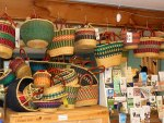 Baskets and visitor info