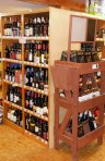 Wine Selection including local and organic wines