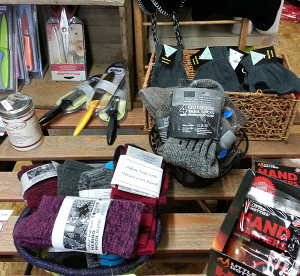 Outdoor adventure gear and sporting goods for enjoyimng the bounty of Quilcene