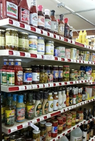 Pantry supplies and condiments for anything you can cook up! At a range of price points.
