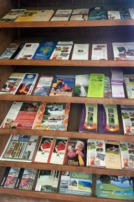 Visitor info, maps and a don't-miss community bulletin board